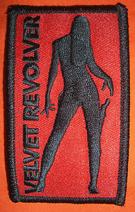 Velvet-Revolver-patch-embroidered-BRAND-NEW-heavy-metal-rock-1-5-X-2-5-inch
