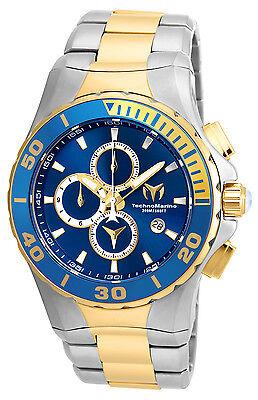 Technomarine Men's TM-215047 Sea Manta Quartz Blue Dial Watch