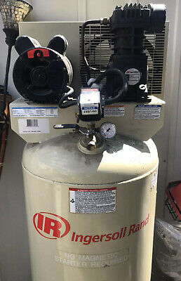 Ingersoll Rand Ss5l5 Electric Air Compressor1 Stage 60 Gallons