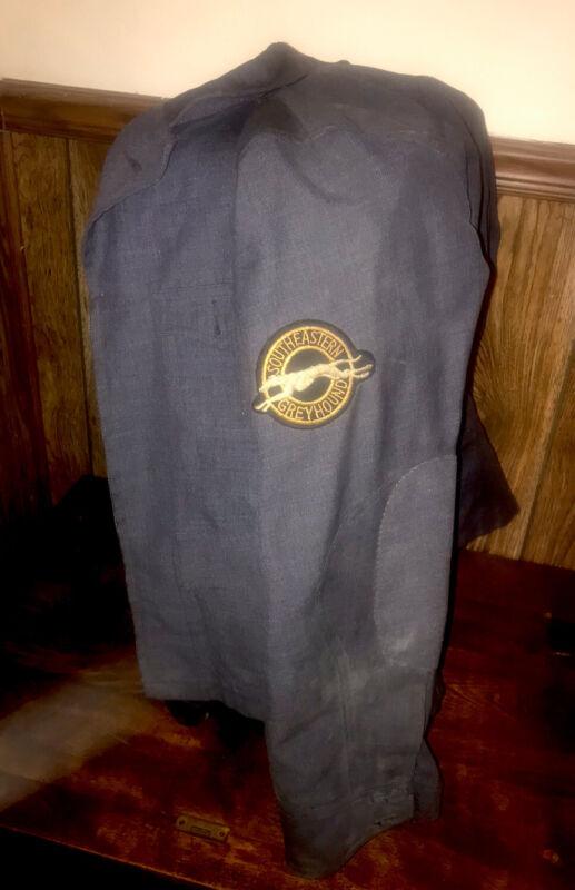 ORIGINAL Vintage Southeastern Greyhound Bus Jacket