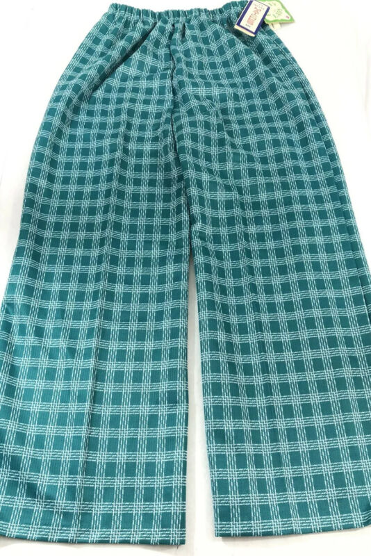 Womens Vintage 1970's Polyester Pants Size 38 New With Tags