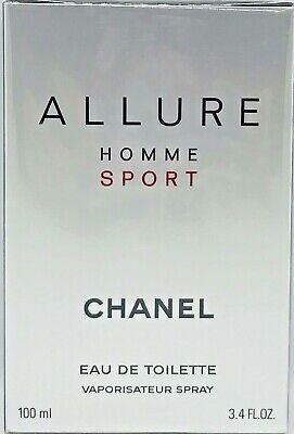 CHANEL ALLURE HOMME SPORT Eau de Toilette 100 ml OVP/NEU
