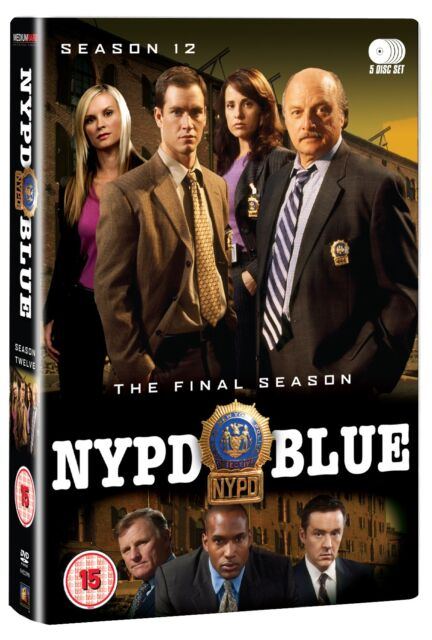 NYPD Blue: Complete Season 12 - DVD NEW & SEALED (5 Discs)              (Series)