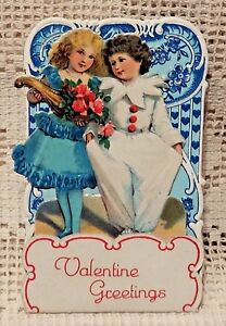 VINTAGE-EARLY-20th-CENTURY-VALENTINE-GREETING-CARD-VALENTINE-GREETINGS