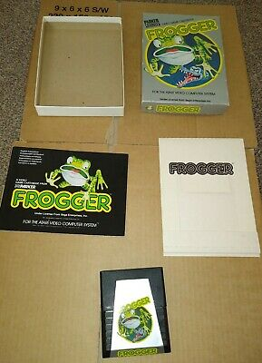 FROGGER ! BOXED WITH MANUAL ! FOR ATARI 2600 + 7800 ! TESTED !