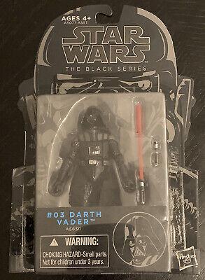 Star Wars The Black Series 03 Darth Vader 3.75 Hasbro