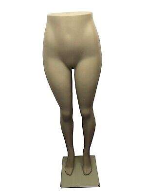 Female Half-body Brazilian Plastic Mannequin With Metal Base