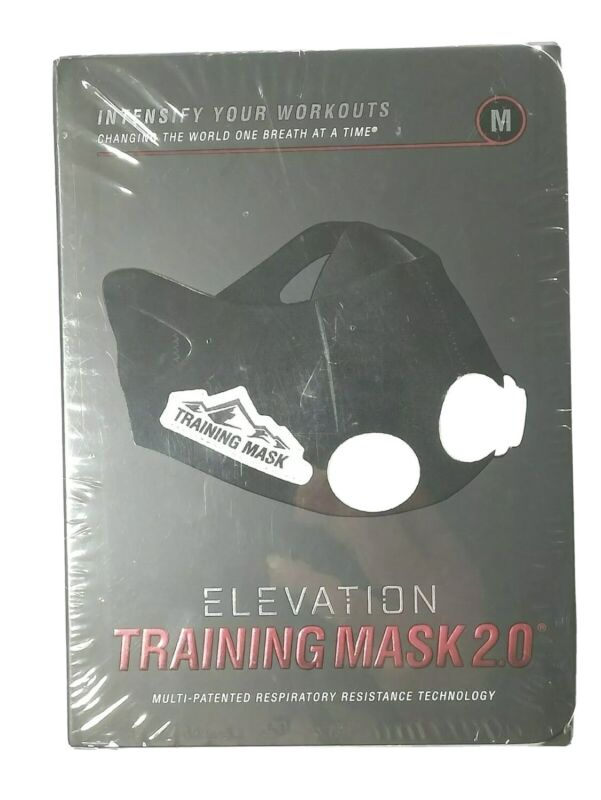 """ELEVATION Training Mask 2.0 Medium """"Intensify Your Workouts"""""""