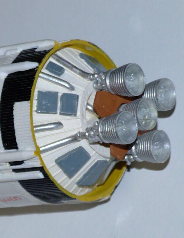 1/144 Apollo Saturn S-II thrust structure for Revell/Monogram Saturn V