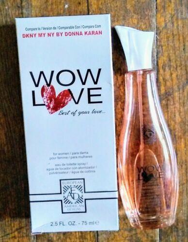 EAD WOW LOVE WOMEN'S 2.5 FL OZ. EAU DE TOILETTE SPRAY