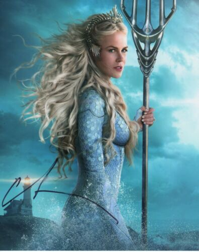 Nicole Kidman Aquaman Autographed Signed 8x10 Photo COA #1
