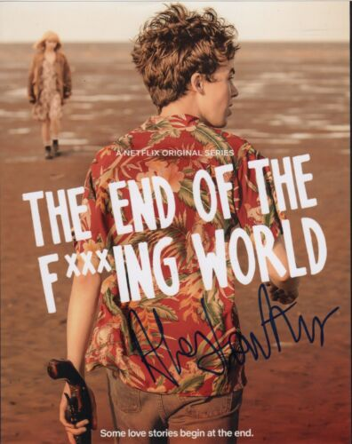Alex Lawther It's the End of the World Autographed Signed 8x10 Photo COA E12