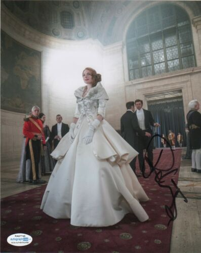Rebecca Ferguson Greatest Showman Autographed Signed 8x10 Photo ACOA MA1