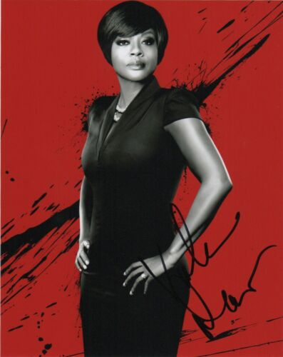Viola Davis How to Get Away With Murder Autographed Signed 8x10 Photo COA #AB66