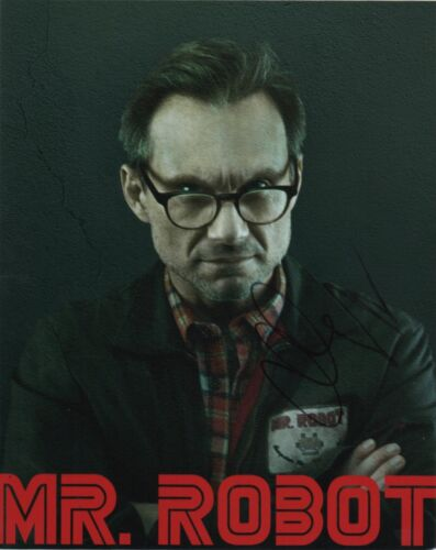 Christian Slater Mr Robot Autographed Signed 8x10 Photo COA #16