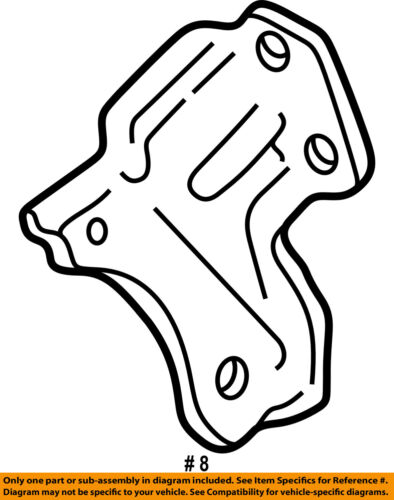 Gm Oem Engine Motor Transmission Transmission Support 22652765
