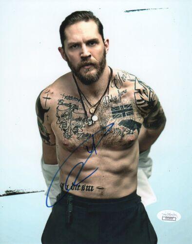 Tom Hardy Autographed Signed 8x10 Photo JSA COA