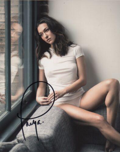 Tasya Teles The 100 Autographed Signed 8x10 Photo COA R4E