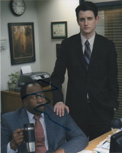 Zach Woods The Office Autographed Signed 8x10 Photo COA 2020-1