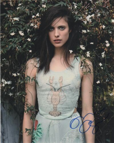 Margaret Qualley Sexy Autographed Signed 8x10 Photo COA O9S
