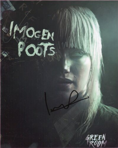 Imogen Poots Green Room Autographed Signed 8x10 Photo COA #J1