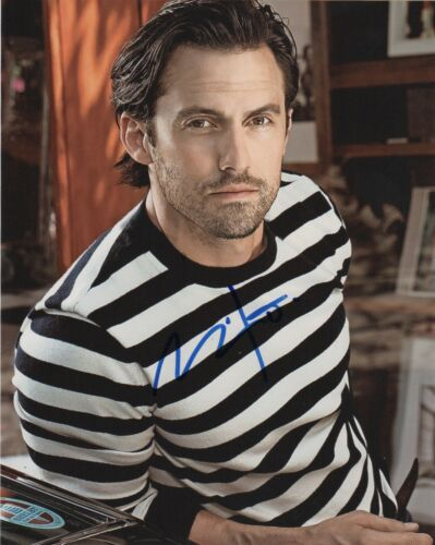 Milo Ventimiglia This is Us Autographed Signed 8x10 Photo COA E03