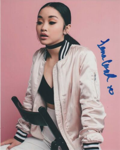 Lana Condor To All The Boys Autographed Signed 8x10 Photo COA EE4