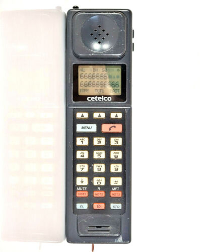 CETELCO CTC 900 - MOBILE PHONE BRICK CELL VINTAGE RETRO RARE COLLECTABLE