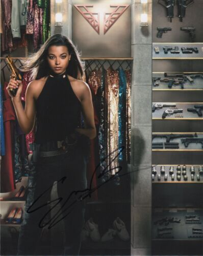 Ella Balinska Charlie's Angels Autographed Signed 8x10 Photo COA 2020-2