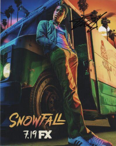 Damson Idris Snowfall Autographed Signed 8x10 Photo COA D94