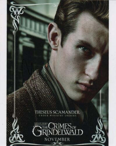 Callum Turner Fantastic Beasts Autographed Signed 8x10 Photo COA CA13