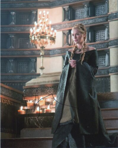 Lena Headey Game of Thrones Autographed Signed 8x10 Photo COA EF702