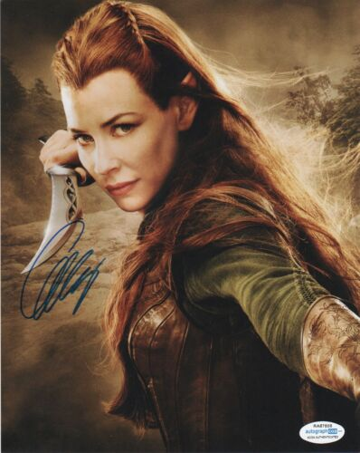 Evangeline Lilly The Hobbit Autographed Signed 8x10 Photo ACOA #1