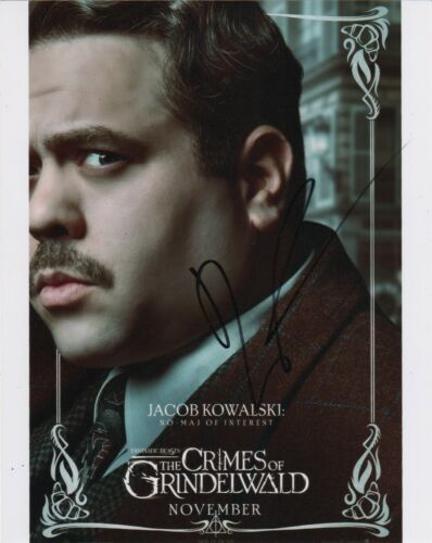 Entertainment Memorabilia Dan Fogler Signed Autograph 11x14 Photo Fantastic Beasts Potter Photographs