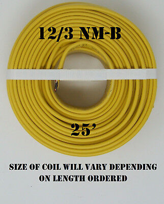 123 Nm-b X 25 Southwire Romex Electrical Cable