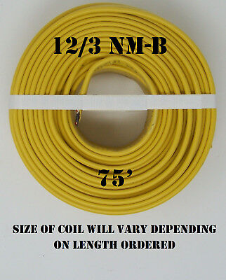 123 Nm-b X 75 Southwire Romex Electrical Cable