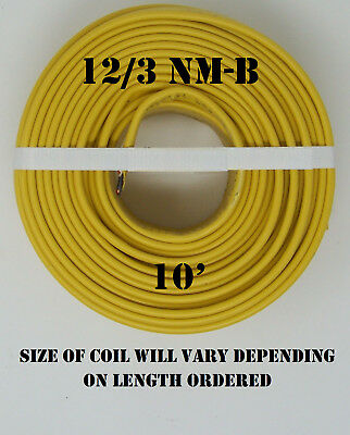 123 Nm-b X 10 Southwire Romex Electrical Cable