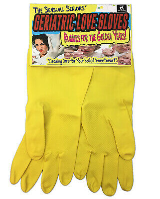 Over The Hill Gifts (Geriatric Love Gloves for Sensual Seniors - Over the Hill Gag Gifts - Funny)