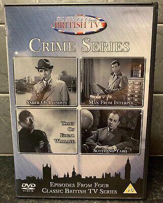 The Best of Classic British TV Crime Series: Saber of London / Man from