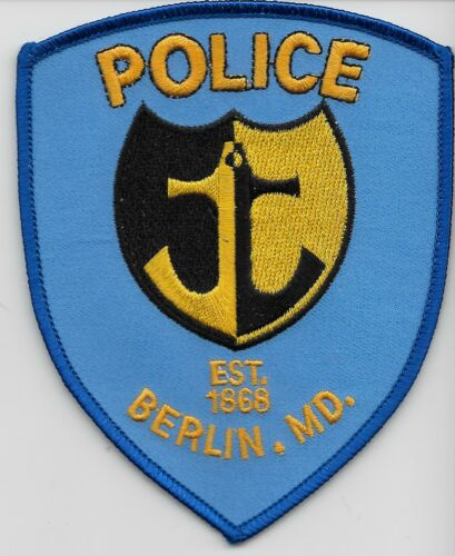 Berlin Police State Maryland MD