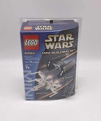 Lego Star Wars 4484 Mini X-Wing Fighter & Tie Advanced Brand New Sealed Retired