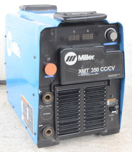 Welder Multiprocess Miller XMT 350 CC/CV 2016