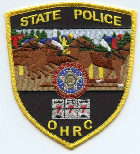 OKLAHOMA OK STATE POLICE Oklahoma Horse Racing Commission OHRC POLICE PATCH
