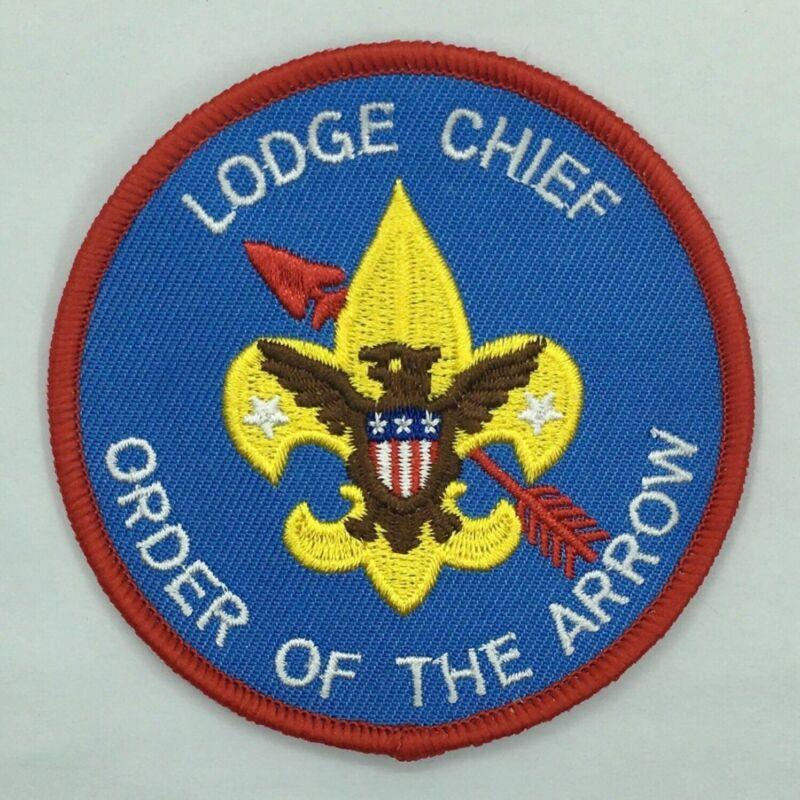 Boy Scout OA Order of the Arrow Lodge Chief Unofficial Position Patch