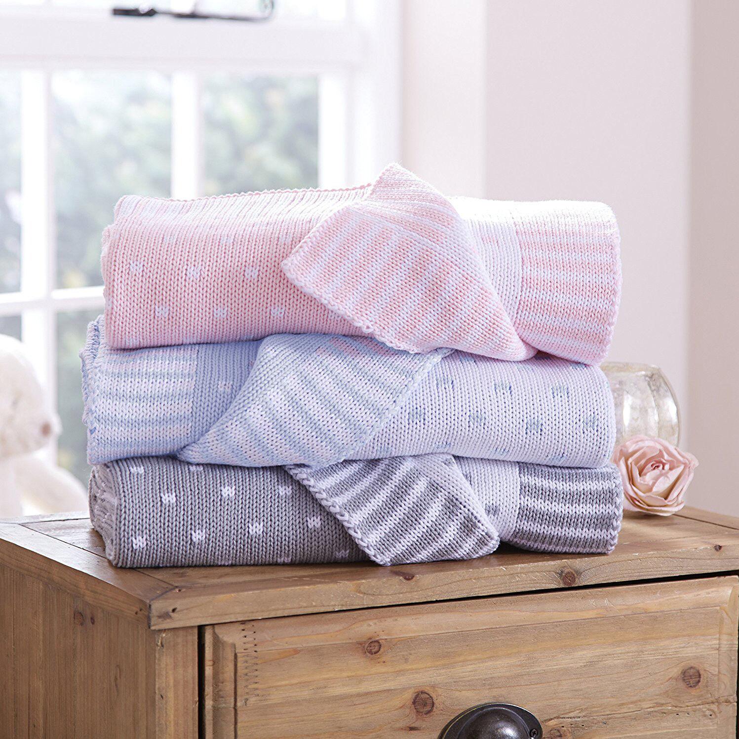 baby pram crib pushchair reversible blanket sherbet