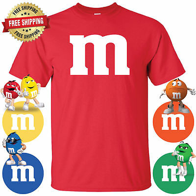Halloween Costume T-Shirt M & M Youth & Adult  (Halloween M&m Costume)