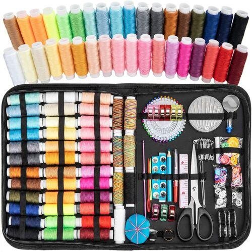 226 Pcs Sewing Kit DIY Premium Sewing Supplies Thread Needle  ScissorHome Travel