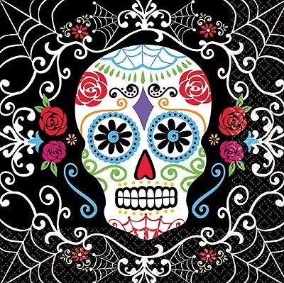 Día de los Muertos Mexicano Halloween Calavera Fiesta Celebración Vajilla