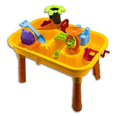 Sand and Water Play Activity Table with Accessories for Toddlers Kids Children
