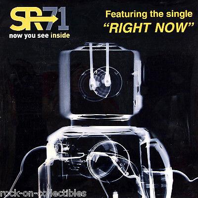 SR 71 Right Now Rare Light Box Translucite Promo Poster Original